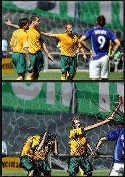 手長人間がサッカーをした場合