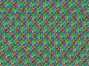 [立体視]ステレオグラム画像4