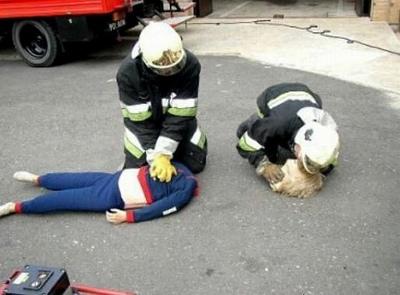 恐ろしすぎる人命救助 おもしろ画像