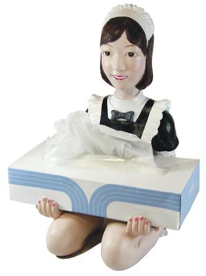 メイドさんティッシュボックス